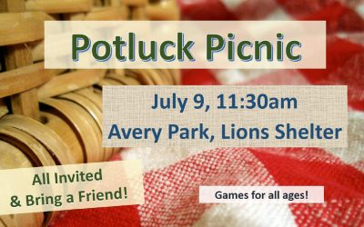 Picnic in Avery Park, July 9