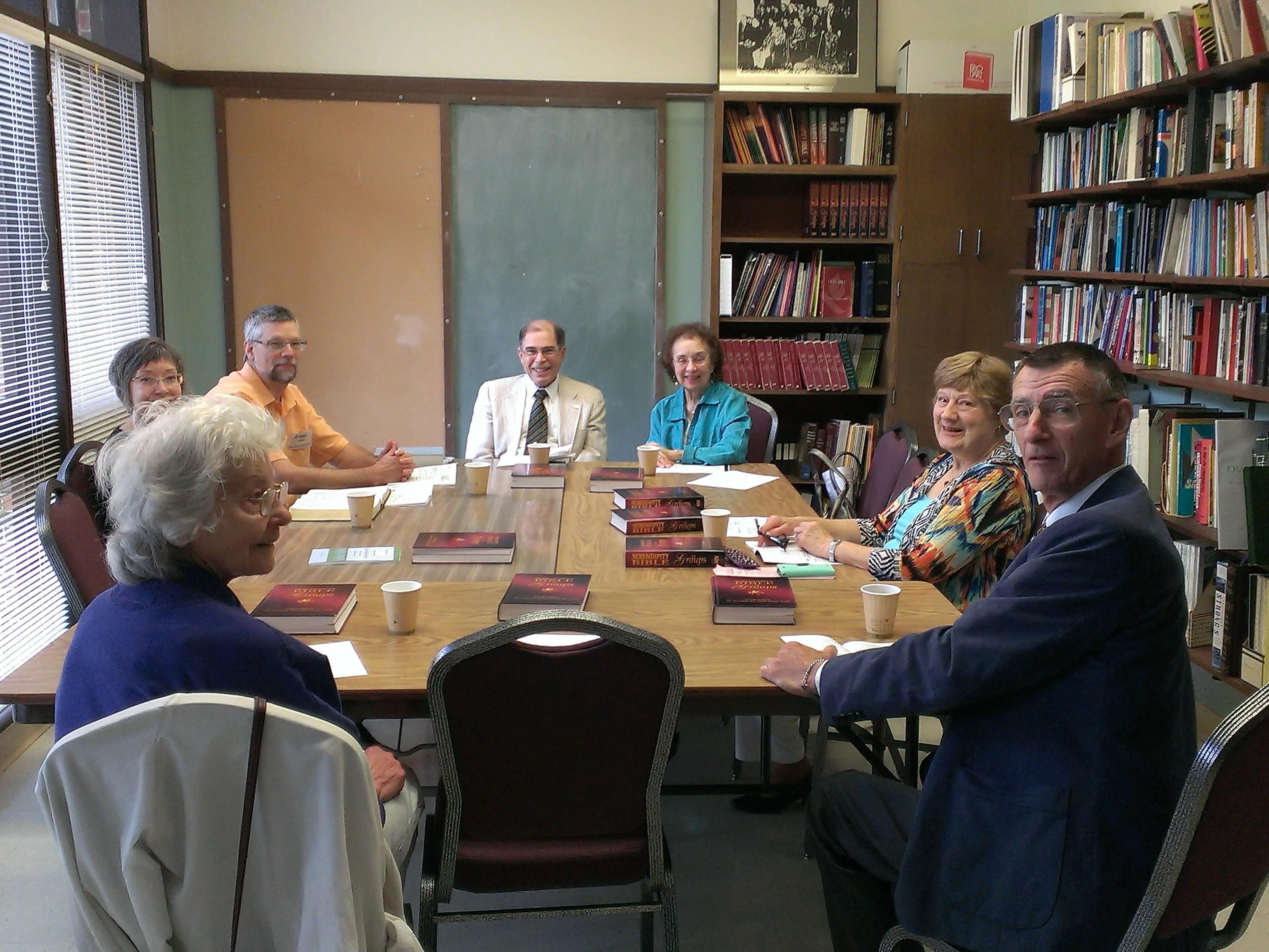 Classroom - Sunday Bible Study