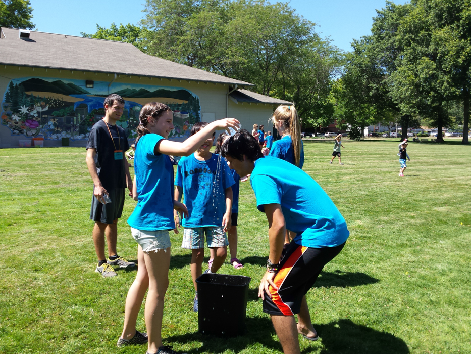 Day Camp Water Games