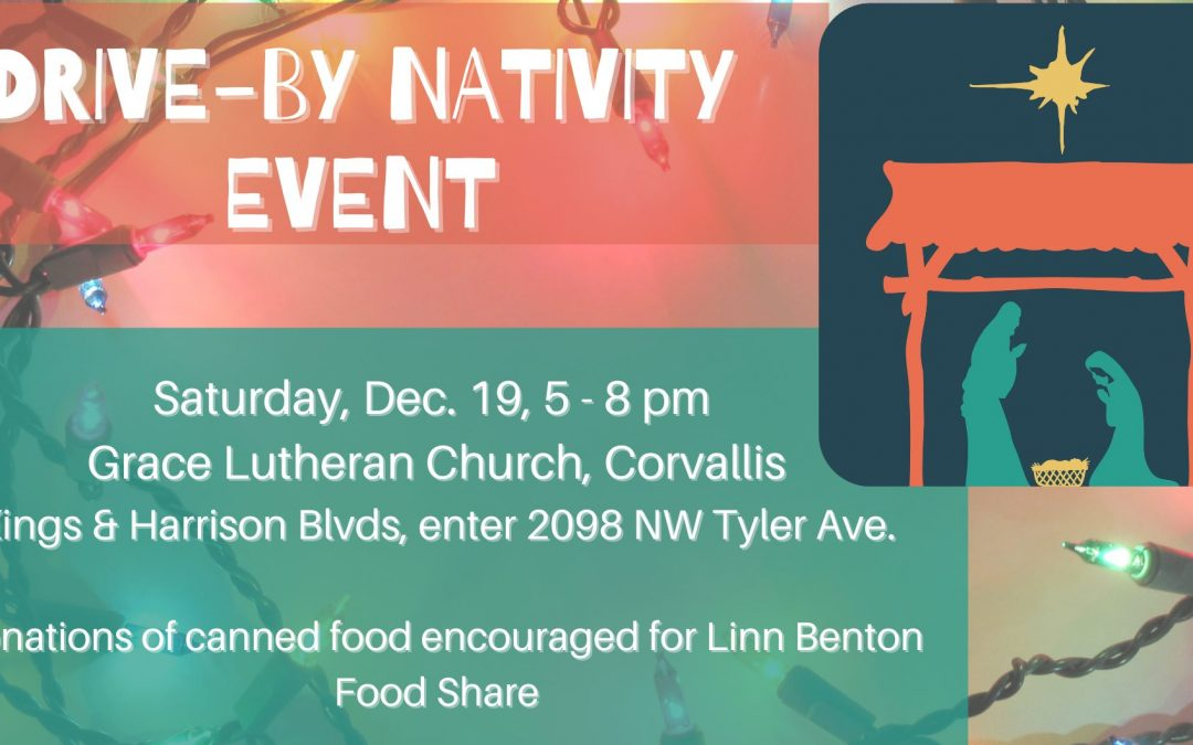 Advent Resources and Nativity Event 2020