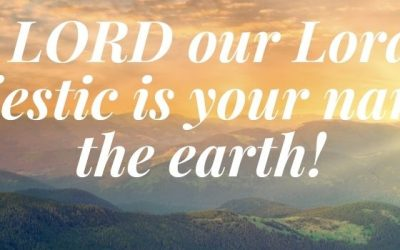 Worship – October 3 – God's majesty and intention for community