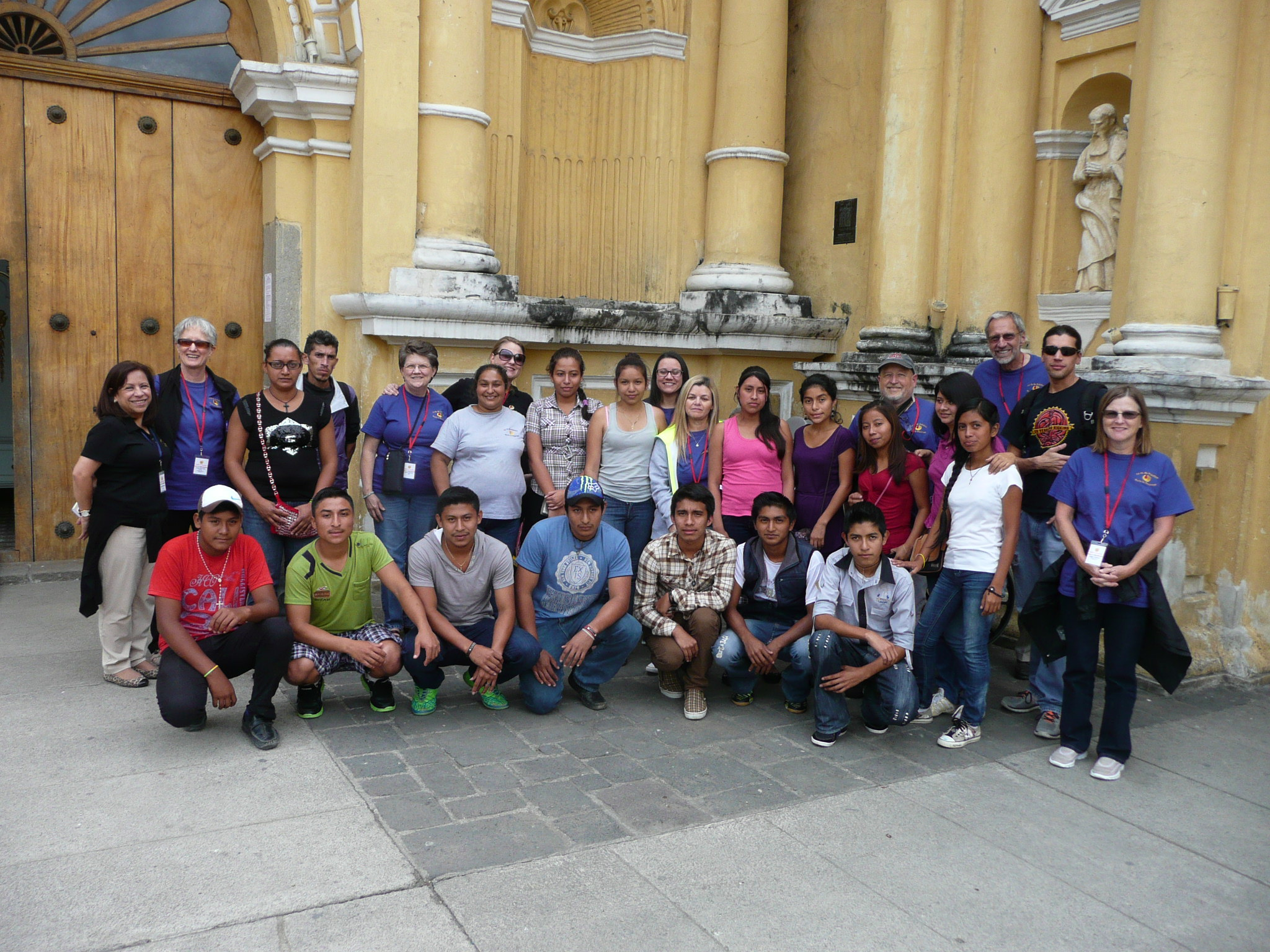 Faith in Service - Guatemala team